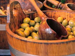 Green Greek Olives